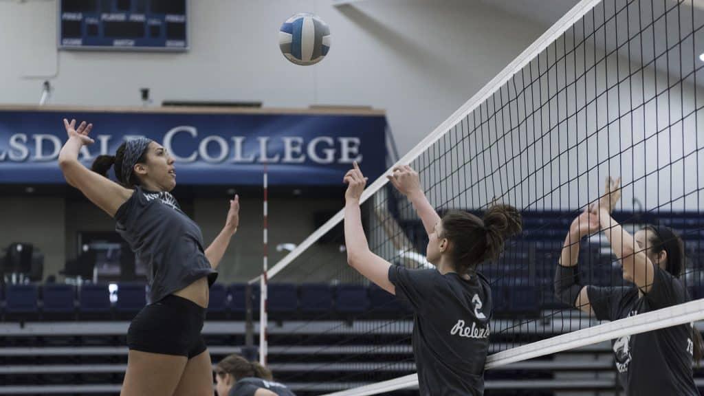 Kyra Rodi Volleyball Practice